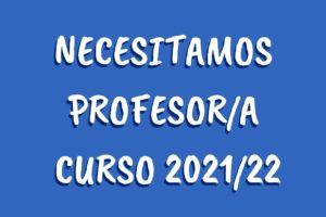 Buscamos profesora